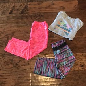 Other - 3 set active wear